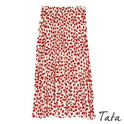花瓣雪紡長裙 共二色 TATA