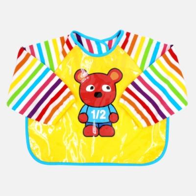 WHY AND 1/2 mini 普普熊工作服 畫畫衣