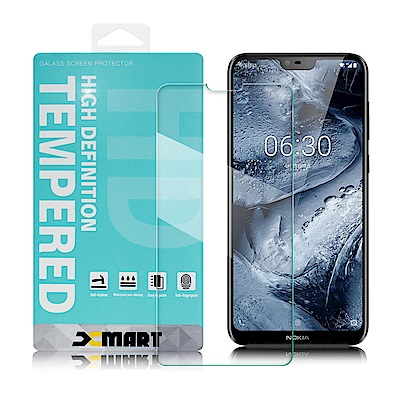 Xmart For Nokia 6.1 plus 薄型 9H 玻璃保護貼