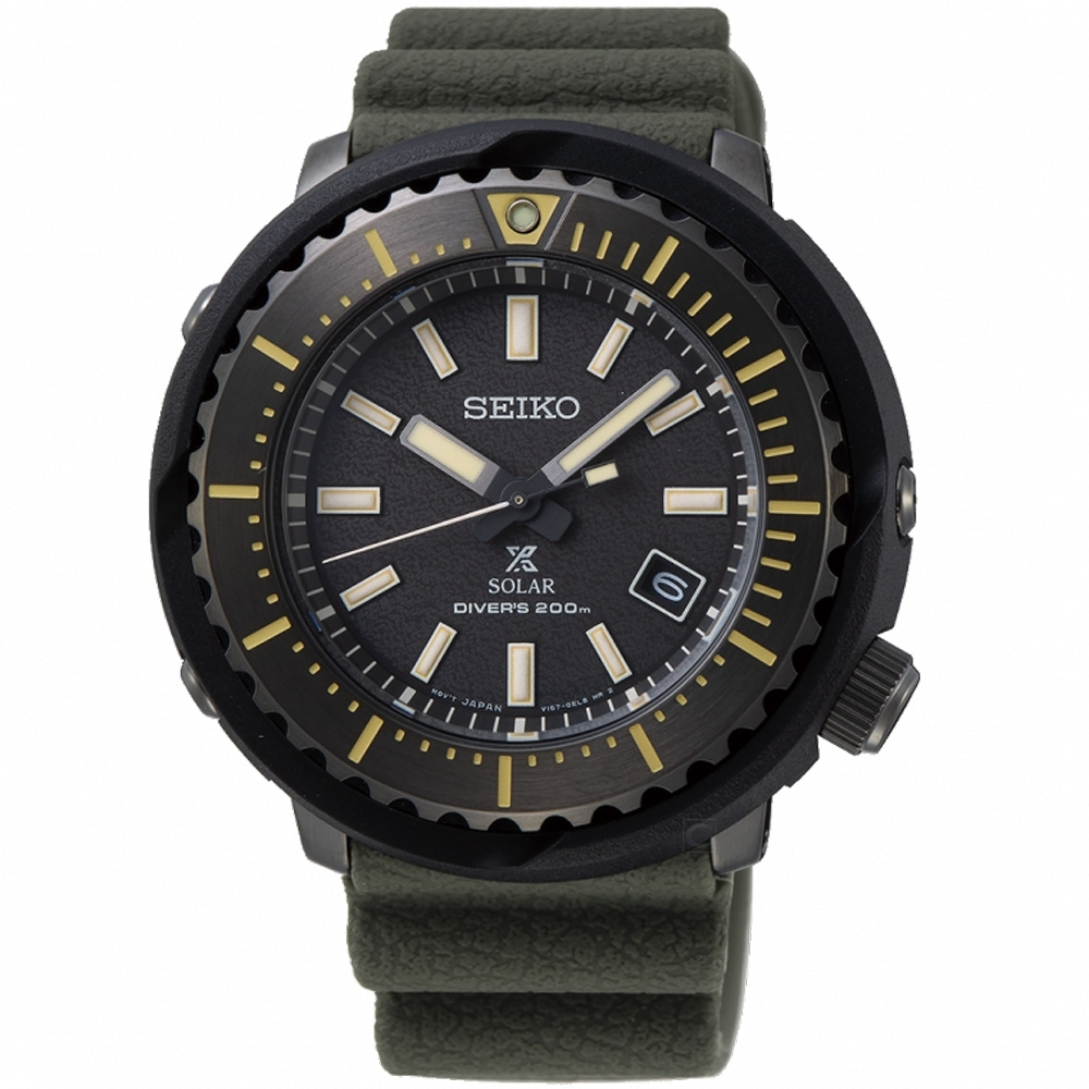 SEIKO精工PROSPEX STREET小鮪魚太陽能潛水錶(SNE543P1)