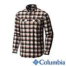Columbia 哥倫比亞 男款-排快法蘭絨襯衫-黑棕 UAM11720BW