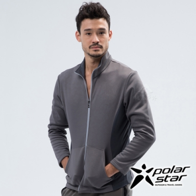 PolarStar 中性 刷毛保暖外套『灰』 P18203