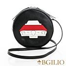 義大利BGilio-摩登牛皮童趣造型小圓包 (汽車)-黑色 2267.002-05