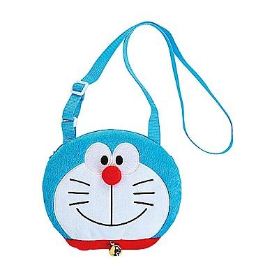 Sanrio 哆啦A夢大頭造型童用迷你絨毛斜背包