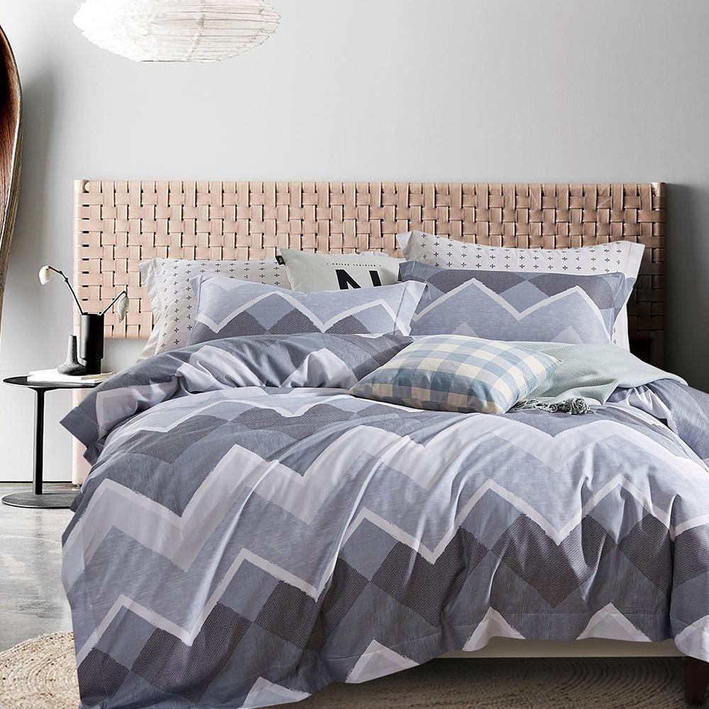 寢室安居 吸溼排汗 涼感天絲枕套床包組(單/雙/大均價)