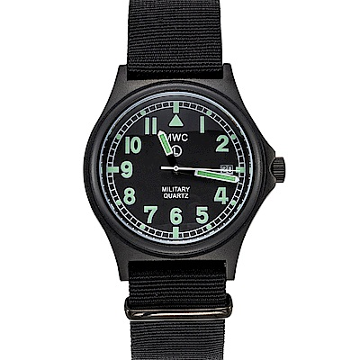 MWC瑞士軍錶 G10LM 316L PVD設計鍍不鏽鋼 -黑色/39mm @ Y!購物