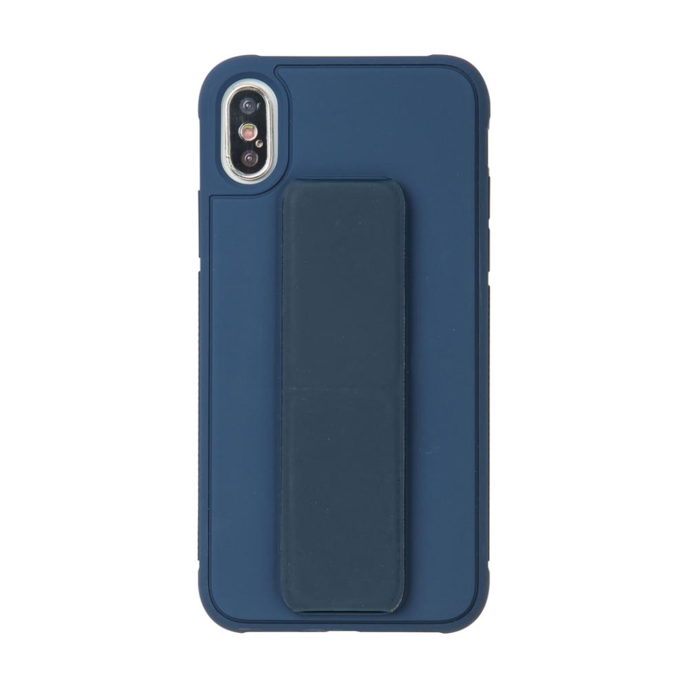 【TOYSELECT】iPhone Xs Max TYS百變磁吸支架手機殼:深藍色
