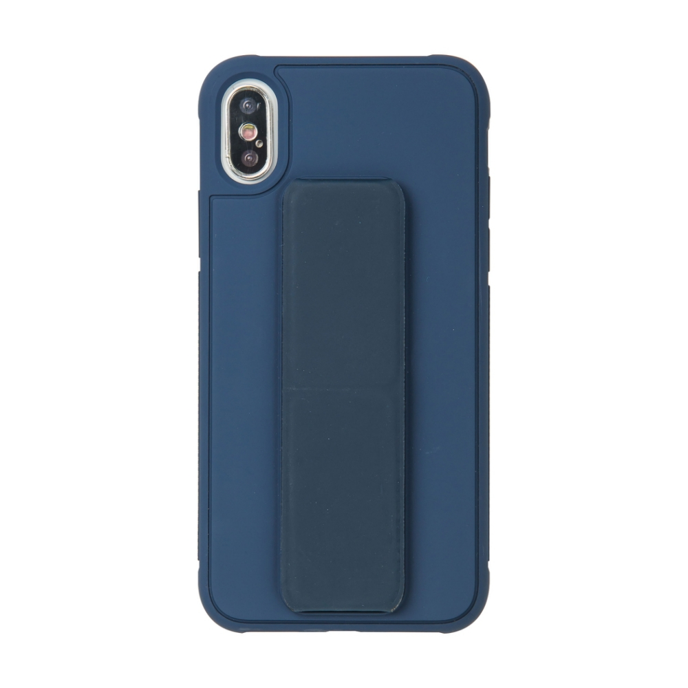 【TOYSELECT】iPhone X/Xs TYS百變磁吸支架手機殼:深藍色