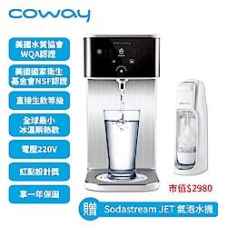Coway 濾淨智控飲水機 冰溫瞬熱桌上型 CHP-241N送軟水專用淨水器