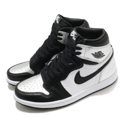 Nike W Air Jordan 1 High OG 女鞋 Silver Toe 喬丹 AJ1 經典 銀 黑 CD0461001