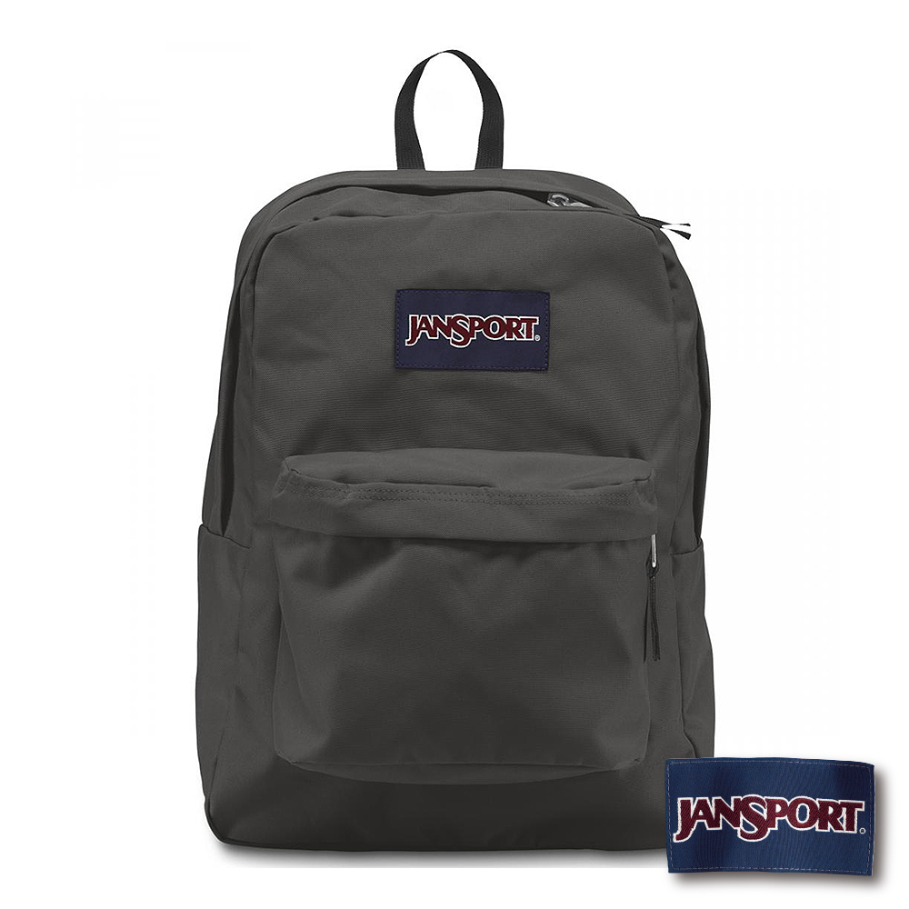 JanSport - SUPERBREAK 系列後背包 -灰