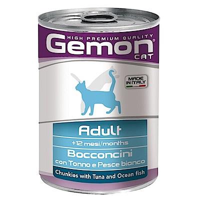 義大利Gemon啟蒙 貓用主食罐系列 415G 24罐組