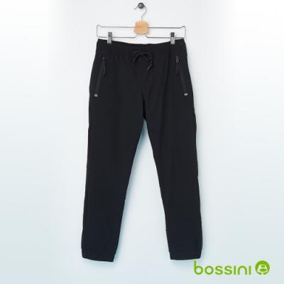 bossini男裝-彈性輕便保暖褲03黑