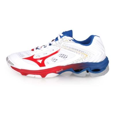 MIZUNO WAVE LIGHTNING Z5 男女排球鞋-訓練 白紅藍