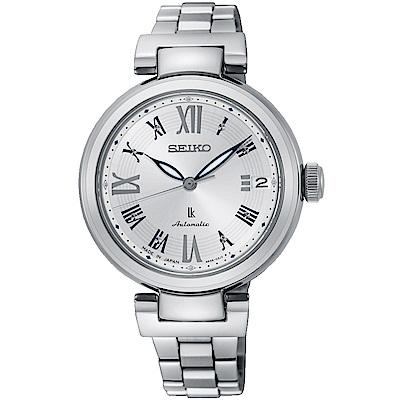 SEIKO精工LUKIA時尚風采機械腕錶(SRP851J1)-銀
