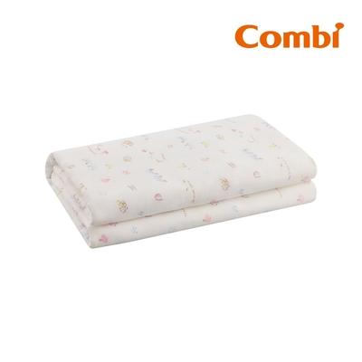【Combi】純棉柔紗-快樂車車 大浴巾