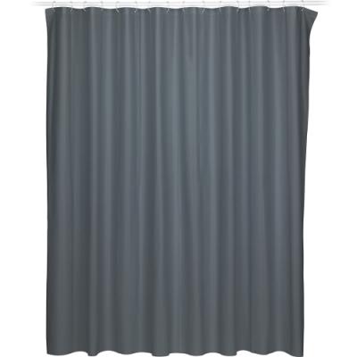 《KELA》Largo防水浴簾(黑120cm)