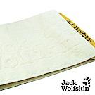 Jack Wolfskin 飛狼緹花運動巾 (米黃)