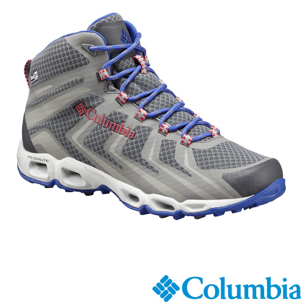 Columbia 哥倫比亞 女款-OD高筒防水健走鞋-灰色UBL46600GY