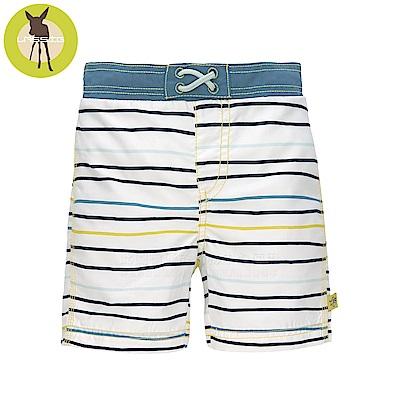 德國Lassig-嬰幼兒抗UV海灘尿布褲-線條藍