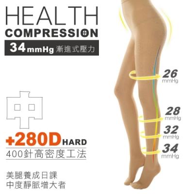 貝柔機能加壓高彈力壓力褲襪(280丹)
