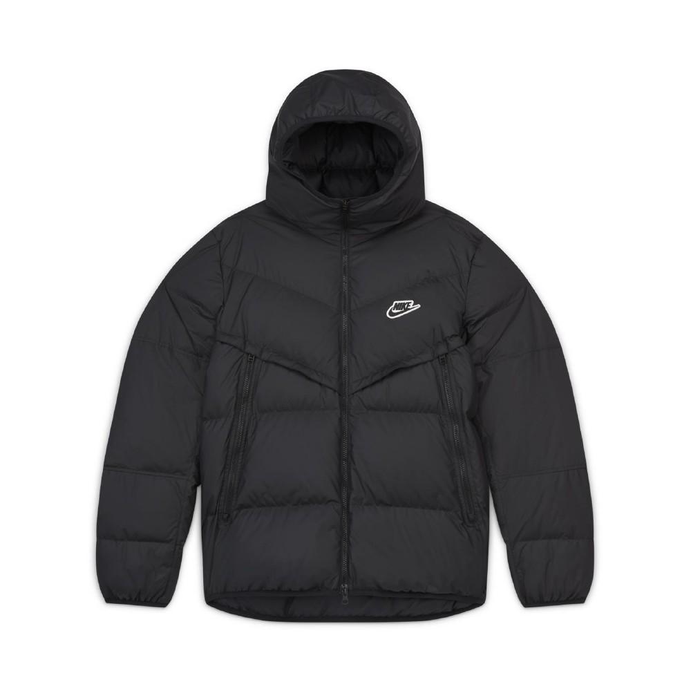 Nike 外套 Down-Fill Windrunner 男款 NSW 運動休閒 灰鴨絨 防風 保暖 黑 白 CU4405010