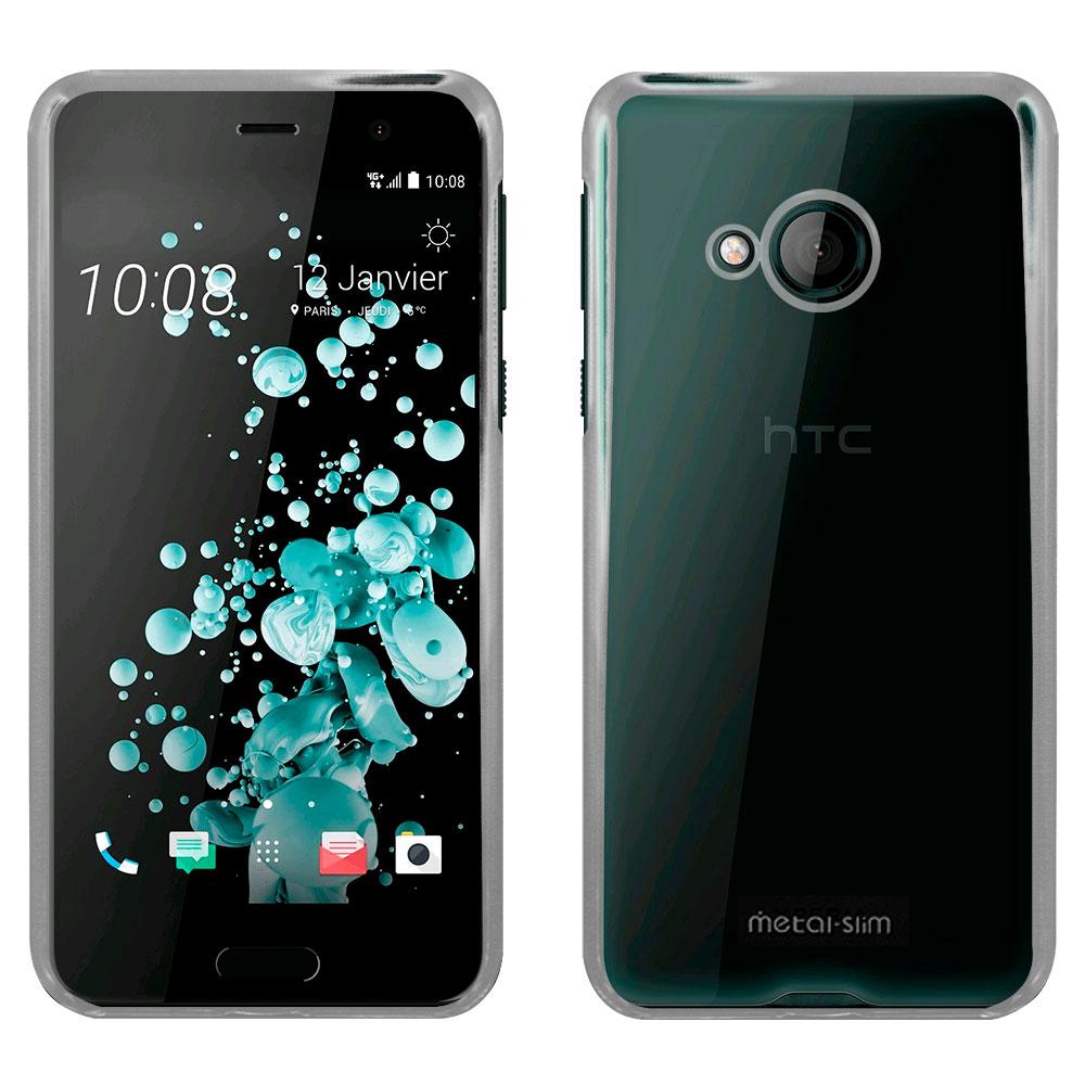 Metal-slim HTC U Play 高抗刮PC透明保護殼
