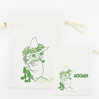 Moomin 08 Snufkin(束口袋-大)