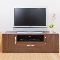 [時時樂限定]《HOPMA》DIY巧收現代雙門電視櫃