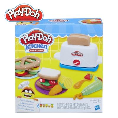 Play-Doh 培樂多-廚房系列-創意吐司 無毒黏土 創意DIY