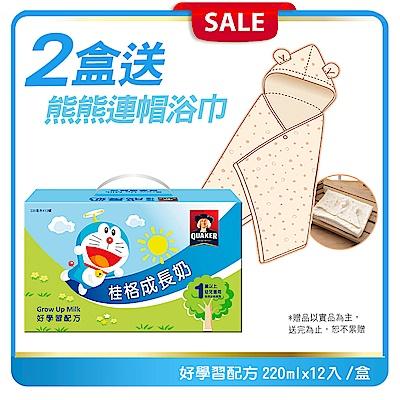 桂格 成長奶 好學習配方 (220mLx12罐) X 2盒