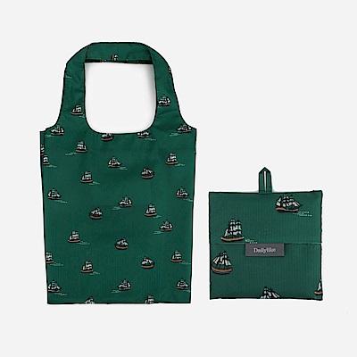 Dailylike 摺疊購物袋單肩包L-06航行