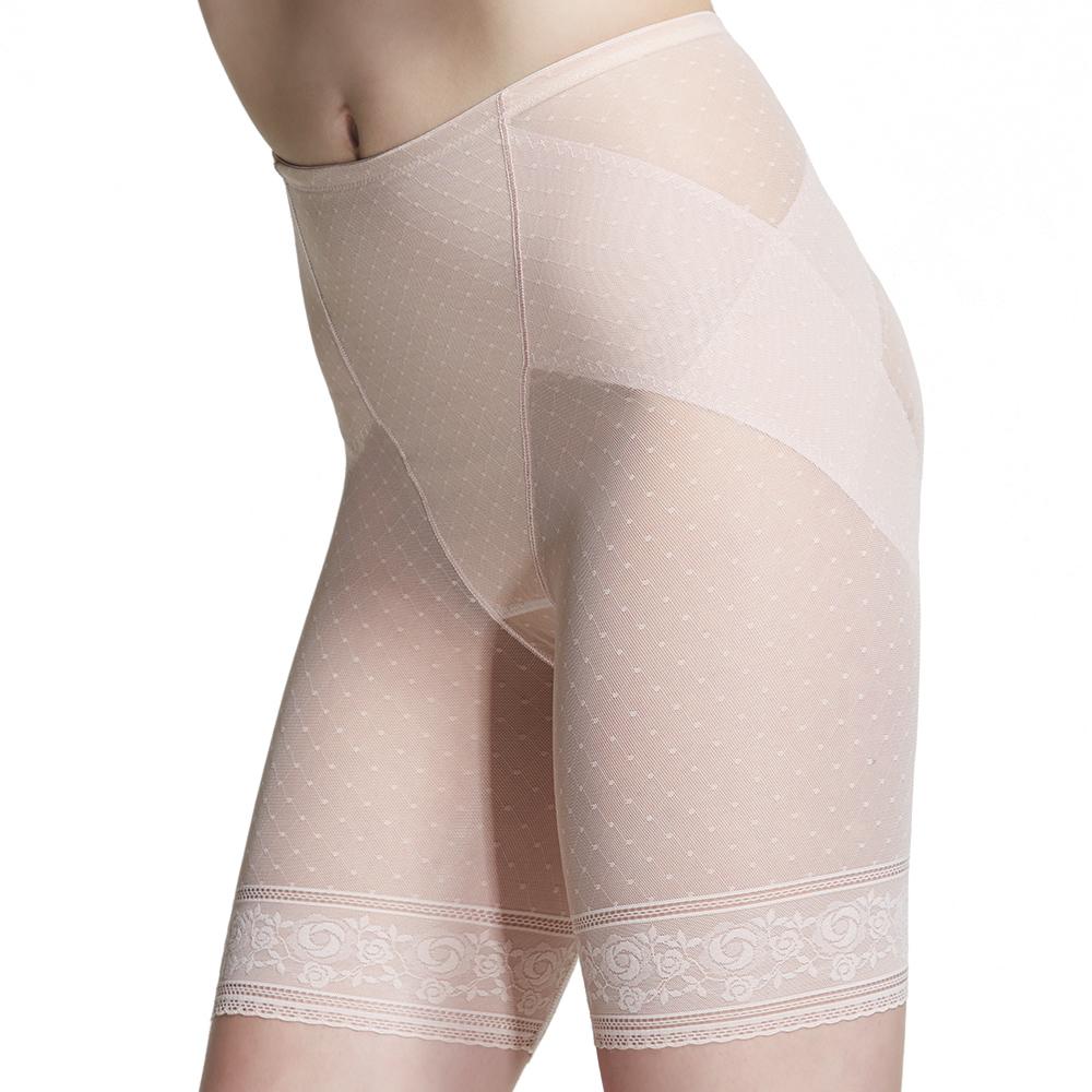 【ohoh-mini 孕婦裝】加長版產後輕機能無痕塑束褲(粉色)