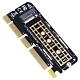 伽利略 M.2 NVMe to PCI-E 16X 轉接卡 product thumbnail 1