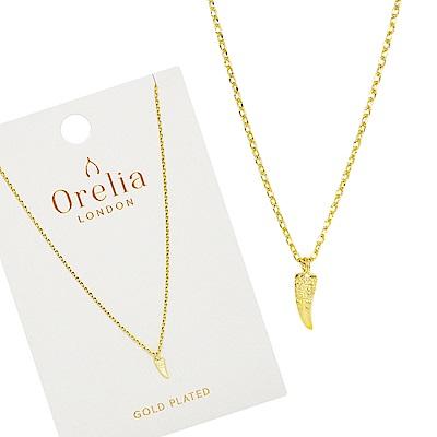 Orelia英國品牌 象牙造型金色項鍊