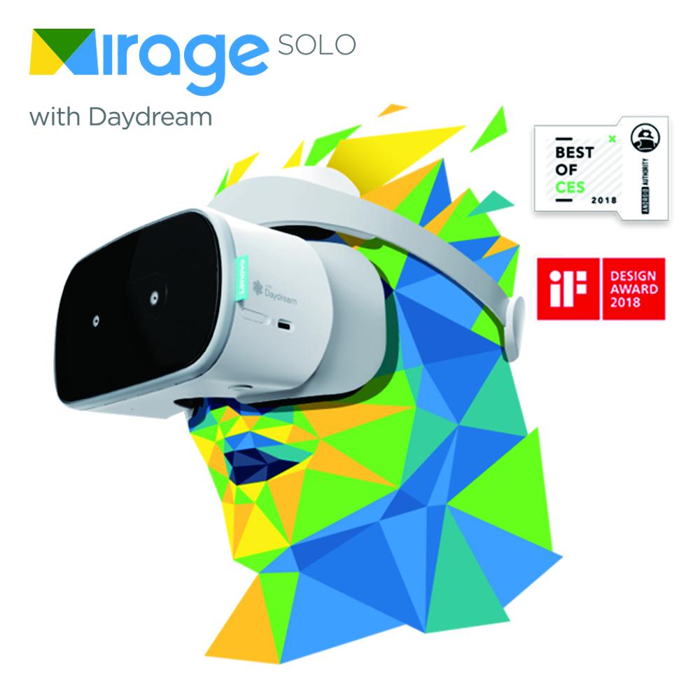 Lenovo Mirage Solo VR 眼鏡 頭盔 Google Daydream
