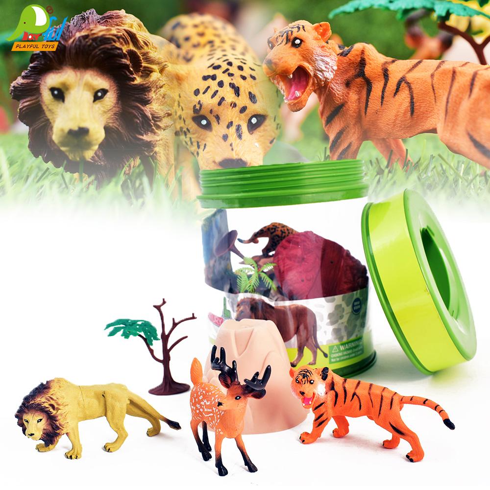 Playful Toys 頑玩具 叢林動物收納桶