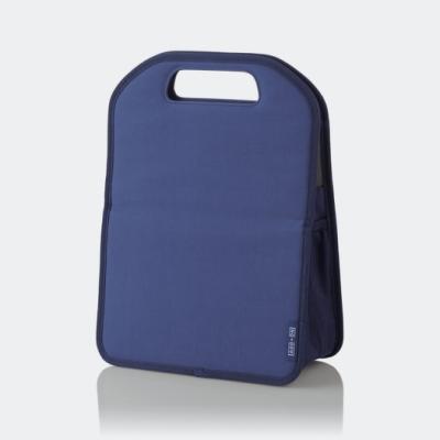 ELECOM 直立式手提袋中袋M-藍