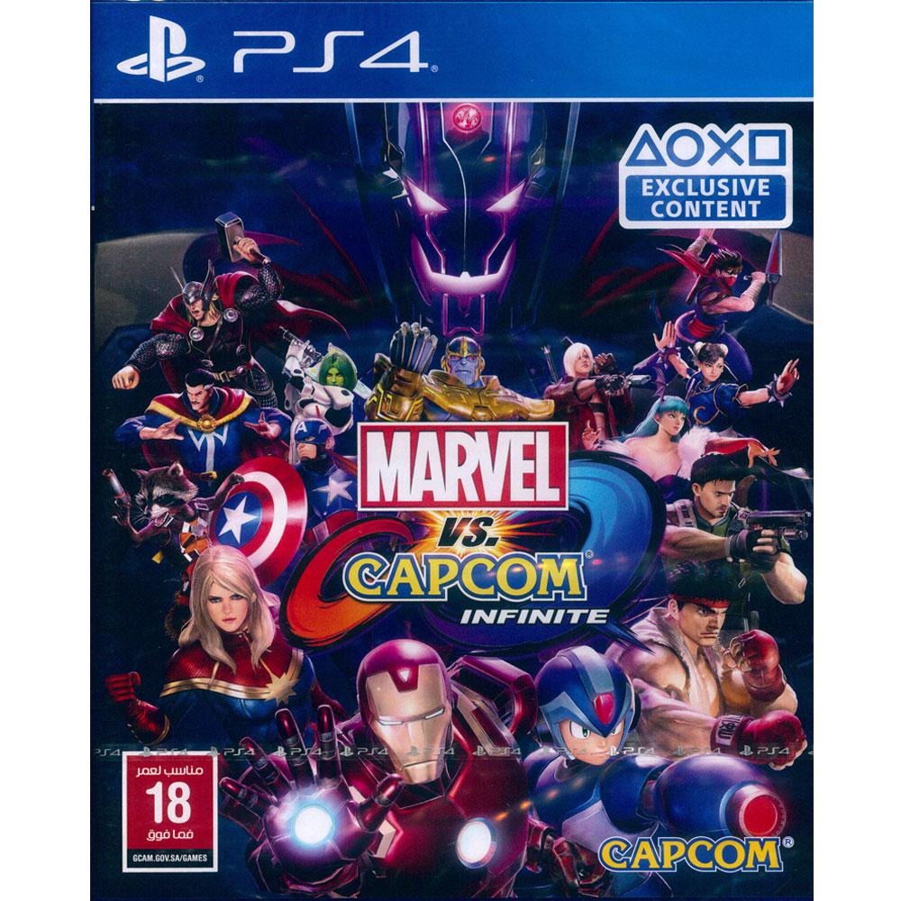 漫威 vs 卡普空 無限 Marvel vs. Capcom -PS4中英日文歐版