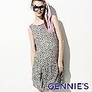 【Gennie's奇妮】甜心約會雪紡春夏孕婦洋裝(G1501)