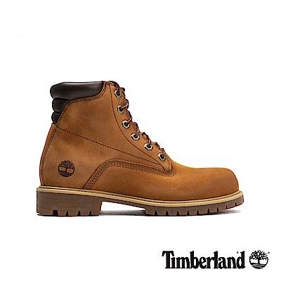 Timberland 男款棕色防水經典6吋靴|A1H8Q