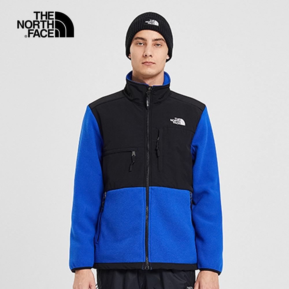 【經典ICON】The North Face北面男女款藍色1995Denali抓絨外套|4NCJCZ6