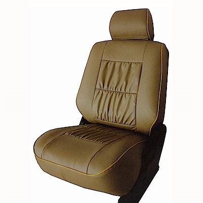 【葵花】量身訂做-汽車椅套-合成皮-A式滾邊-露營車款-1+2排