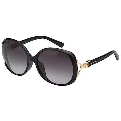 LONGCHAMP 太陽眼鏡 (黑色)LO630SK