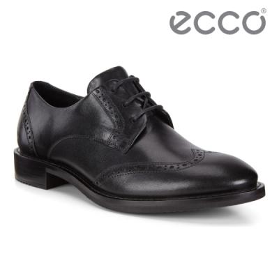 ECCO SARTORELLE 25 TAILORED 英式復古牛津鞋 女鞋 黑色