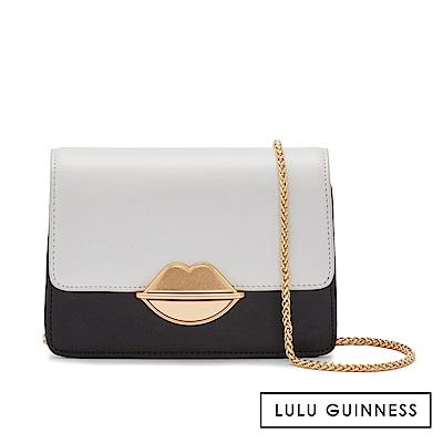 LULU GUINNESS POLLY 側背包 (黑白)