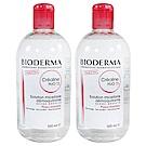 Bioderma貝膚黛瑪 舒敏高效潔膚液(TS加強保濕) 500ml 雙瓶組