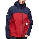 Superdry Arctic Exon SD連帽防風夾克(深藍/紅色)