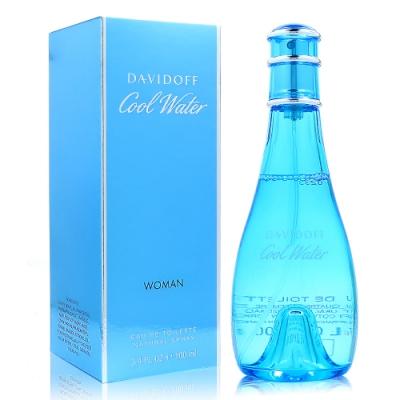 DAVIDOFF COOL WATER 冷泉女 淡香水 100ml