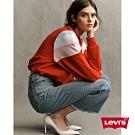 Levis 女款 Ribcage復古超高腰排釦喇叭褲 褲管毛鬚及踝款 彈性